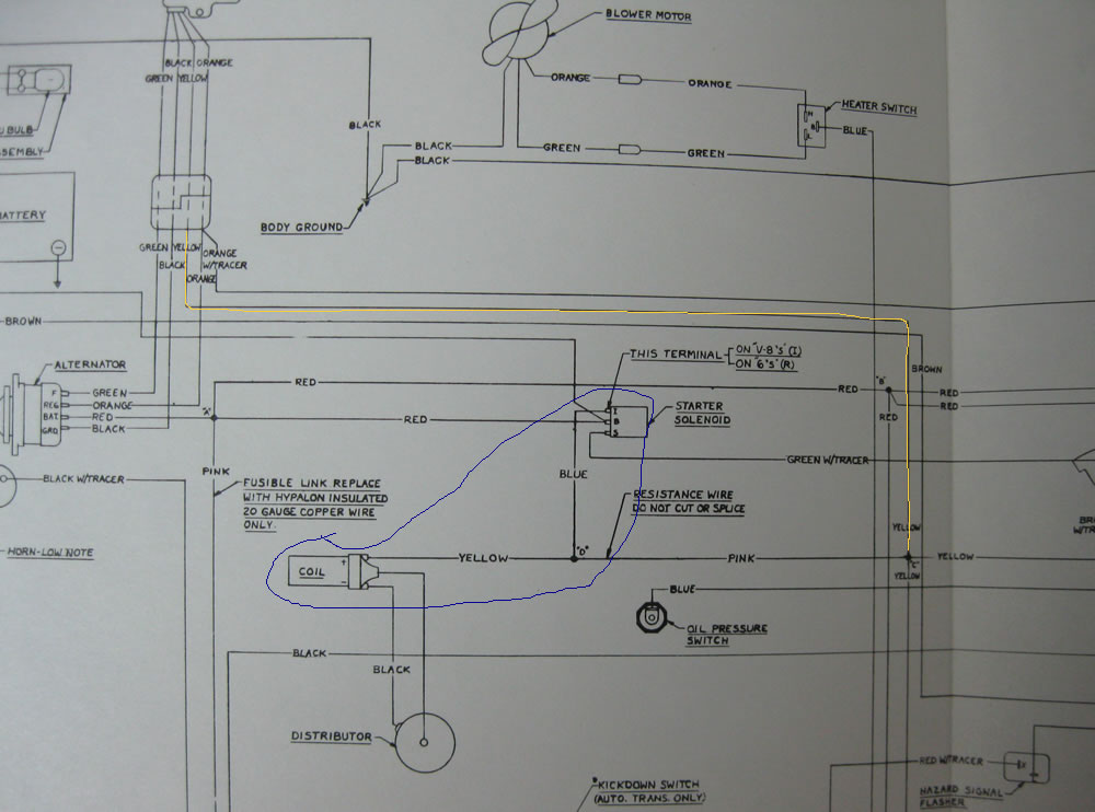 1974 Jav alternator wires - The AMC Forum - Page 1 Javelin Altinator Wiring Diagram on
