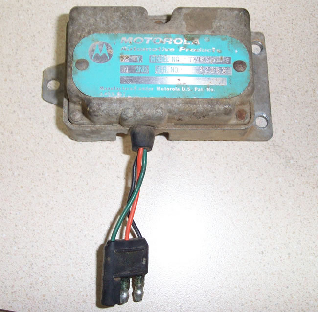 Question On Wiring A Motorola Alternator