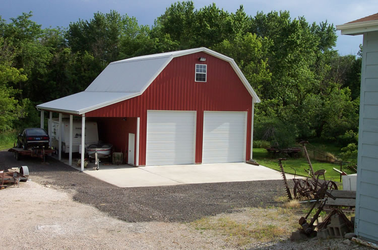 Barn style garage plans for Barn shaped garage
